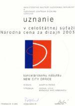 Národná cena za dizajn 2003