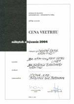 Cena veľtrhu NR 2004